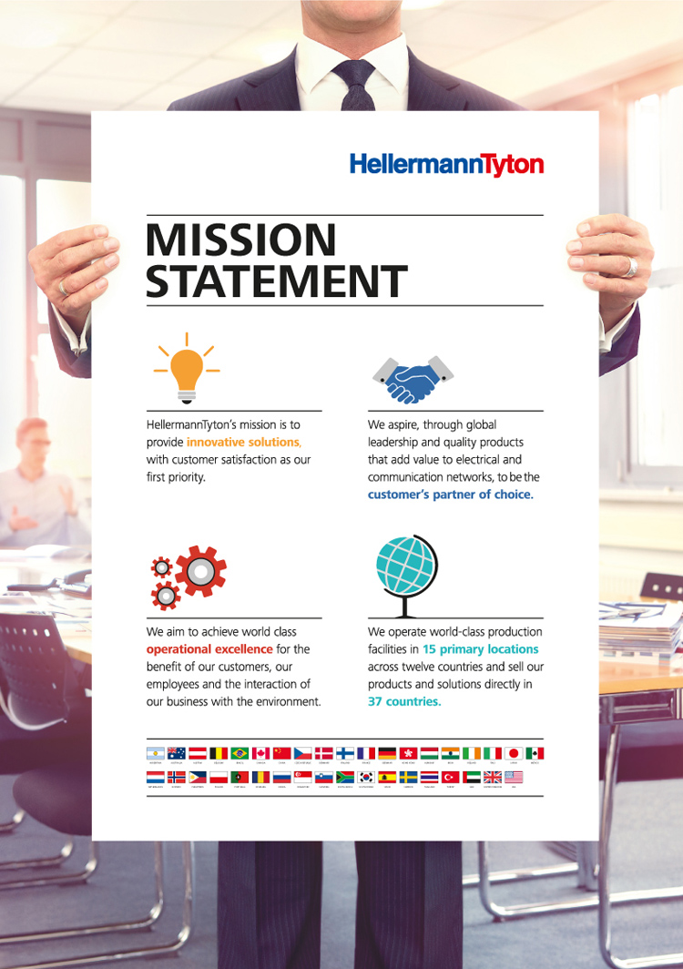 HellermannTyton Mission Statement