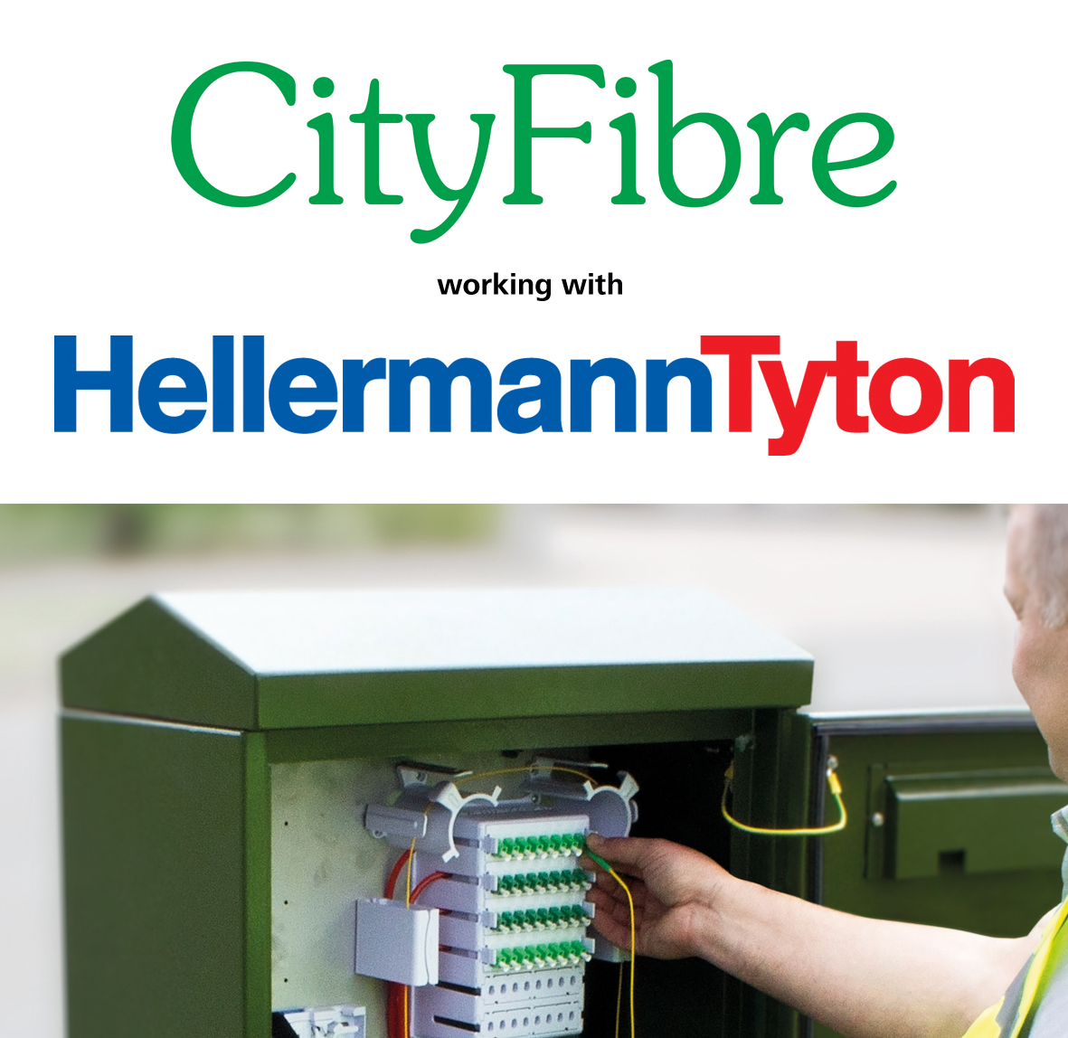 HellermannTyton Sign Supplier Agreement with CityFibre