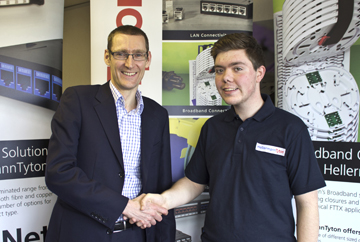 Matthew Richards Completes his Apprenticeship with HellermannTyton