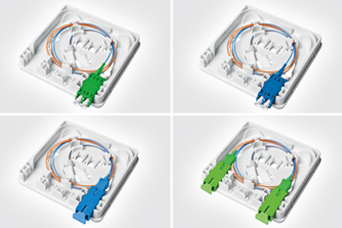 Features and Benefits of the HellermannTyton Fibre Wall Outlet