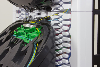 Features and Benefits of the HellermannTyton Coloured Fibre Optic Slice Trays